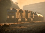 33V heads west at sunrise